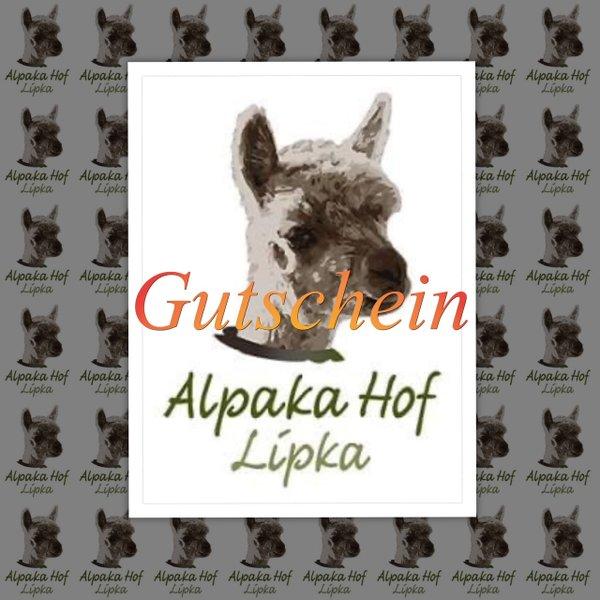Wertgutschein - Alpakahof Lipka