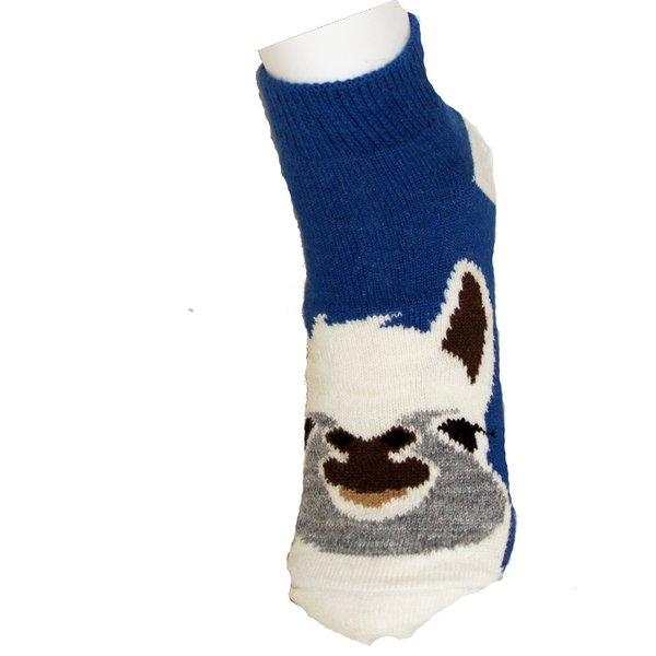Alpaka Kurz-Socken (mit Aloe Vera)