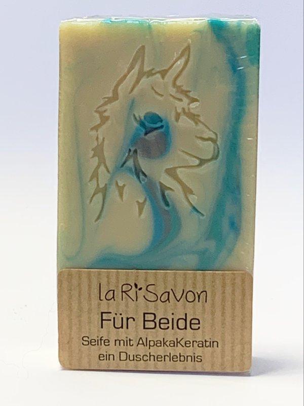 "Alpaka-Keratin Seife - ""Für Beide"""