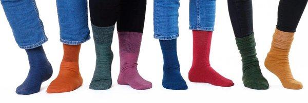 Alpaka Socken - die Welt ist bunt
