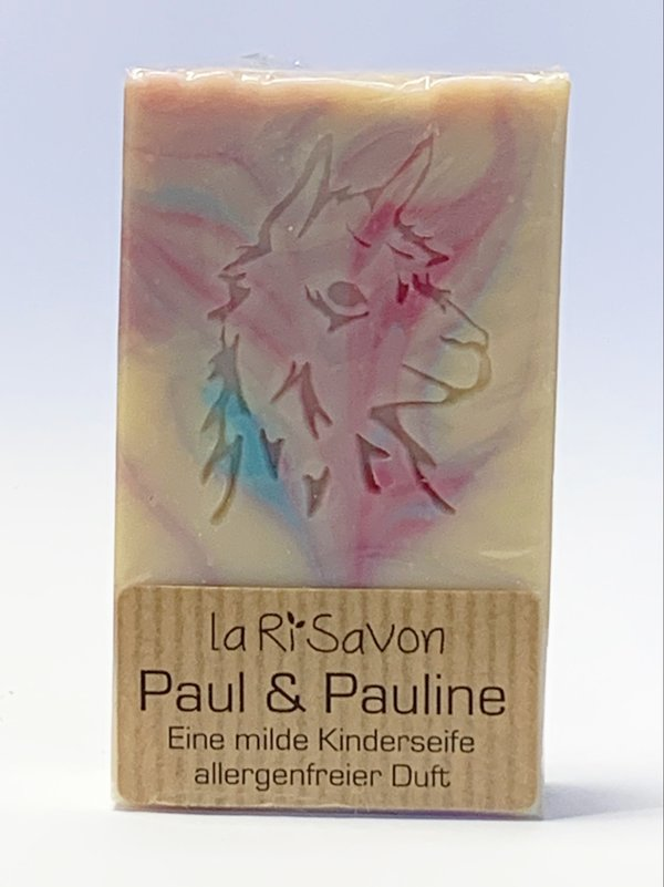 """Alpaka-Keratin Seife - """"Paul & Pauline"""""""