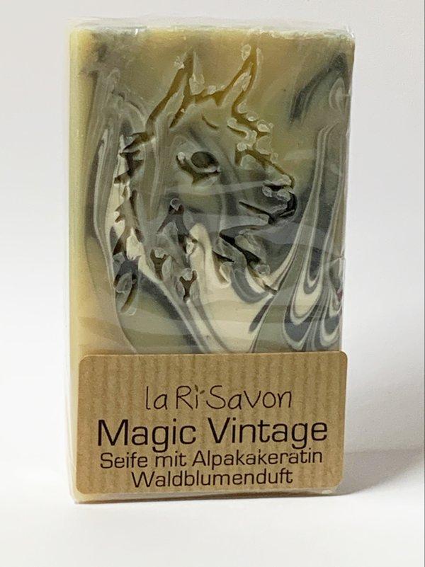 "Alpaka-Keratin Seife - ""Magic Vintage"""