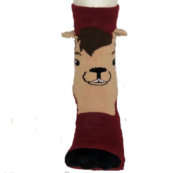 3D-Alpaka-Socken (mit Aloe Vera)