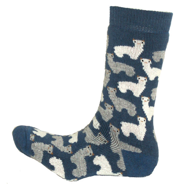 Alpaka Frottee-Socken (mit Aloe Vera)